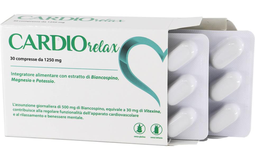 Cardio Relax 30 compresse da 1250 mg - Confezione singola sconto
