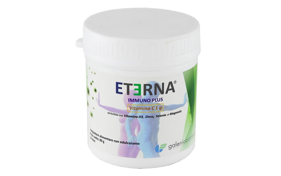 Eterna Immuno Plus 80gr in polvere - 2 Confezioni sconto 30%